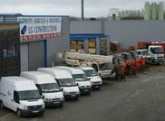 Batiment et camions LG Constructions